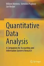 Quantitative Data Analysis: A Companion for…
