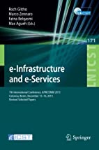 e-Infrastructure and e-Services: 7th…