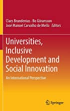 Universities, Inclusive Development and…