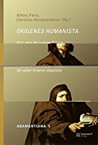 Origenes Humanista: Pico della Mirandolas De…