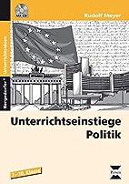 Unterrichtseinstiege Politik: 7. bis 10.…
