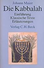 Die Kabbalah : Einführung, klassische…