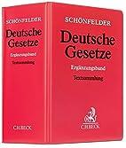 Schönfelder Deutsche Gesetze,…