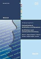 Fachwörterbuch Architektur und…