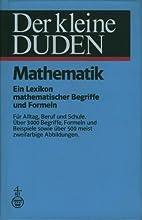 Der kleine Duden, Mathematik E. Lexikon…