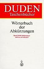 Wörterbuch der Abkürzungen : Rund 38000…