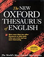 The New Oxford Thesaurus of English by…