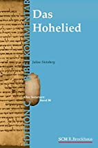 Das Hohelied (Edition C/AT/Band 26) by…