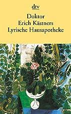 Doktor Erich Kästners Lyrische…