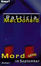 Mord im September by Patricia J. MacDonald