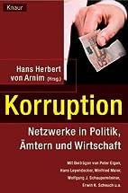 Korruption. Netzwerke in Politik,…