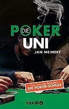Die Poker-Uni by Jan Meinert