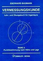 Vermessungskunde, Bd.2, Punktbestimmung nach…