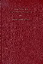 The Greek New Testament by Eberhard Nestle