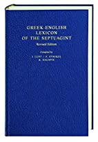 Greek-English Lexicon of the Septuagint by…