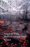 Vendela Vida: Weil ich zu spät kam