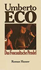 Das Foucaultsche Pendel. (German Edition) by…