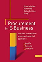 Procurement im E- Business. Einkaufs- und…