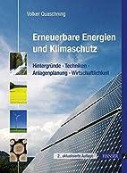 Erneuerbare Energien und Klimaschutz:…