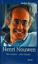 Henri Nouwen by Jurjen Beumer