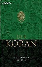 Der Heilige Koran (Quran) by Mirza Tahir…