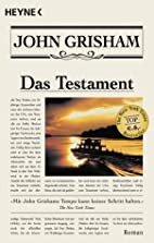 Das Testament. by John Grisham