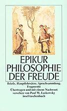 Philosophie der Freude: Briefe.…
