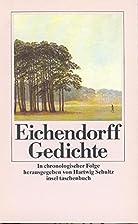 Gedichte (insel taschenbuch) by Joseph von…