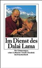 Im Dienst des Dalai Lama: Die Erinnerungen…