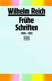 Frühe Schriften 1920-1925. by Wilhelm…