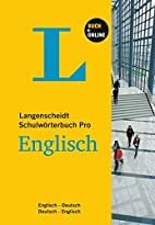 Langenscheidt Schulwörterbuch Pro Englisch…