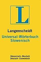 Langenscheidt Universal-Wörterbuch…