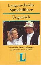 Langenscheidts Sprachführer Ungarisch by…