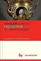 Kindler Kompakt: Philosophie 18. Jahrhundert…