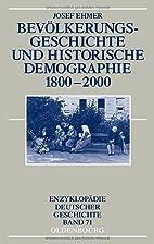 Bevölkerungsgeschichte und historische…