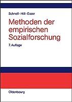 Methoden der empirischen Sozialforschung by…