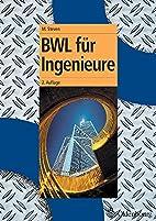 BWL für Ingenieure by Marion Steven
