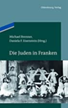 Die Juden in Franken by Michael Brenner