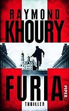 Furia: Thriller by Raymond Khoury