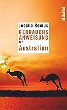 Gebrauchsanweisung für Australien by Joscha…