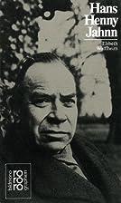 Hans Henny Jahnn by Elsbeth Wolffheim