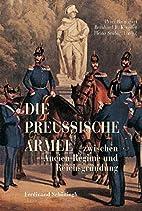 Die Preußische Armee zwischen Ancien…