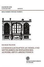 Lesegesellschaften an Mosel und Mittelrhein…
