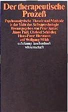 Der therapeutische Prozeß by Peter Kutter