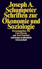 Schriften zur Ökonomie und Soziologie…