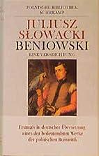 Beniowski by Juliusz Słowacki