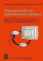 Management von Informationssystemen:…