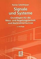 Signale und Systeme: Grundlagen für die…