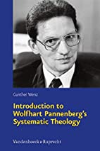 Introduction to Wolfhart Pannenberg's…