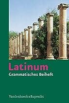 Latinum, Ausgabe B: Latinum, Grammatisches…